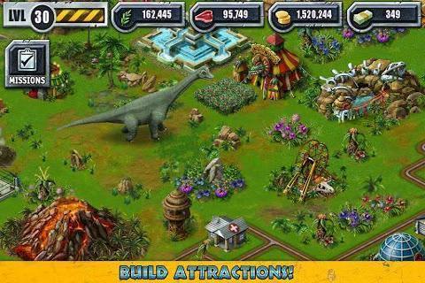 建设侏罗纪公园截图3