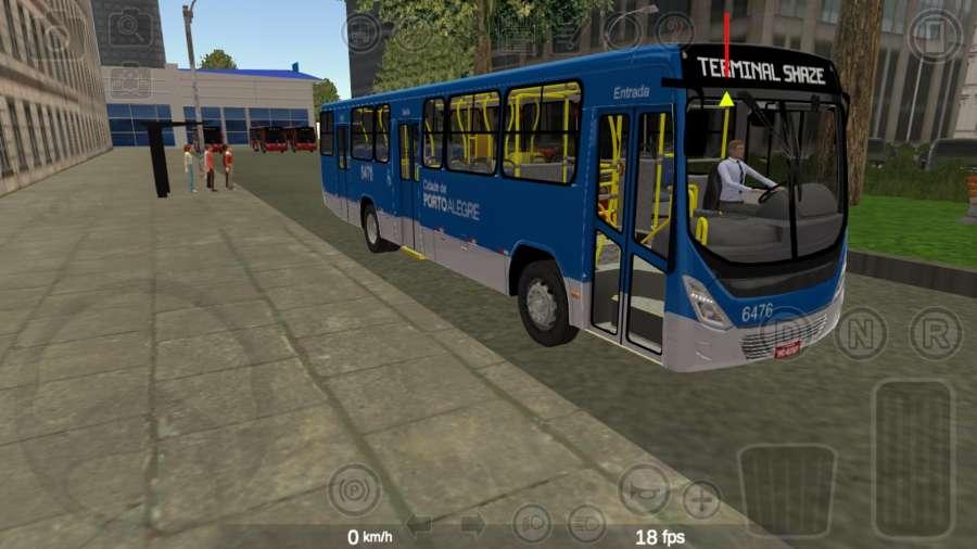 公交驾驶模拟器2020截图2