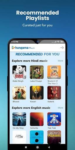 Hungama Music - Stream & Download MP3 Songs截图1