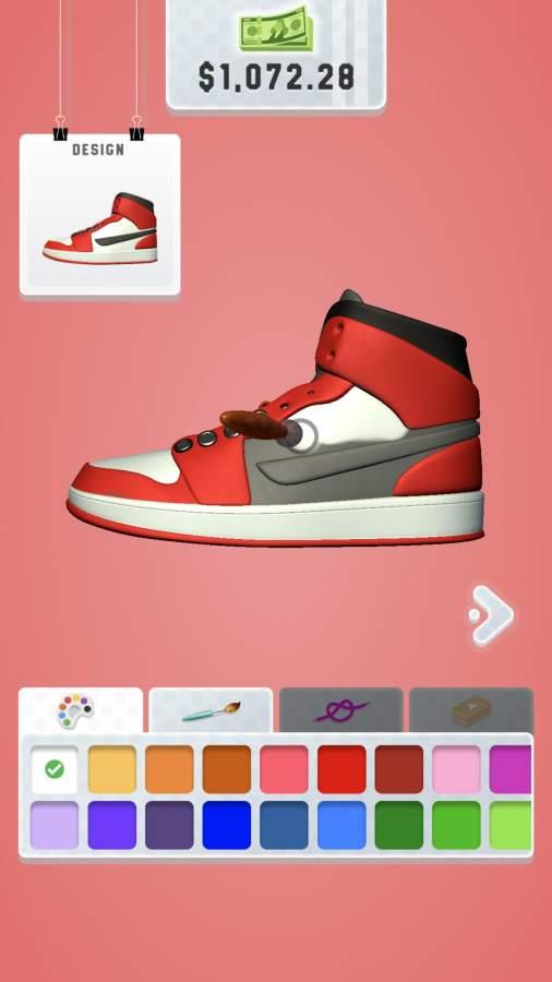 运动鞋艺术