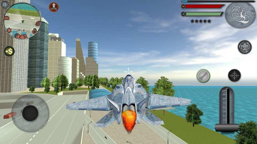 变形金刚飞机模拟器截图0