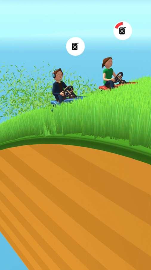 竞速割草机