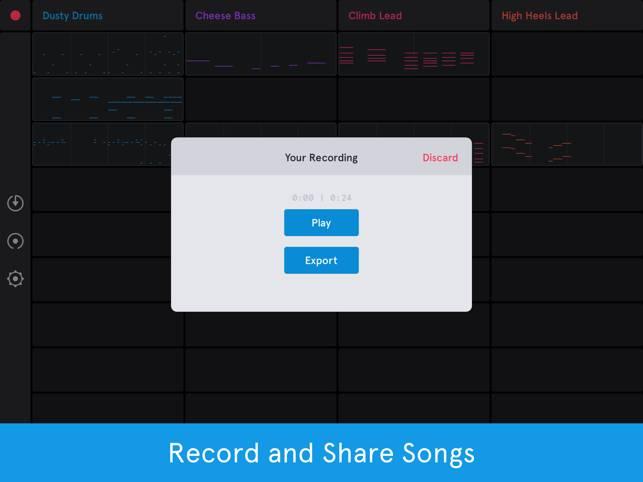 Auxy Jam - Simple Beat Maker截图4