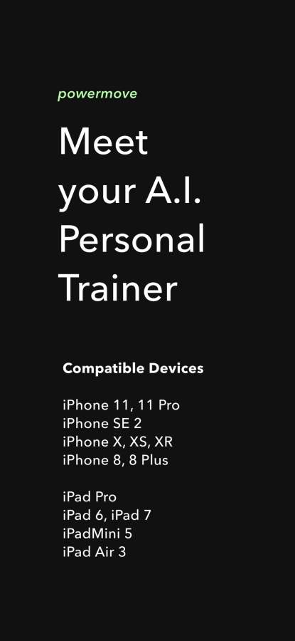 Powermove - A.I. Home Workouts截图0