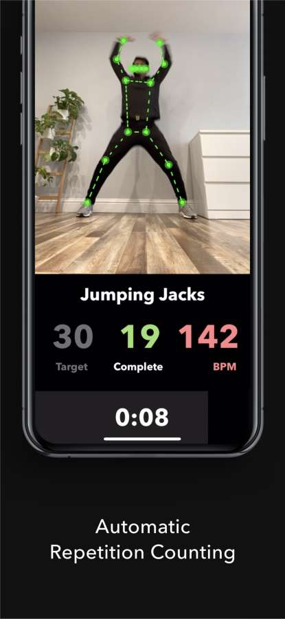 Powermove - A.I. Home Workouts截图2
