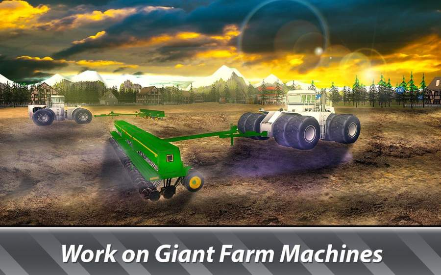 大机器模拟器:农业 - 经营一个巨大的农场!截图1