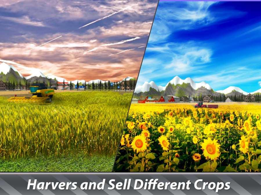 大机器模拟器:农业 - 经营一个巨大的农场!截图2