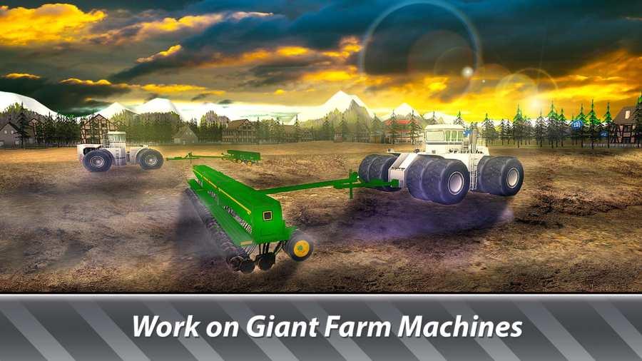大机器模拟器:农业 - 经营一个巨大的农场!截图4