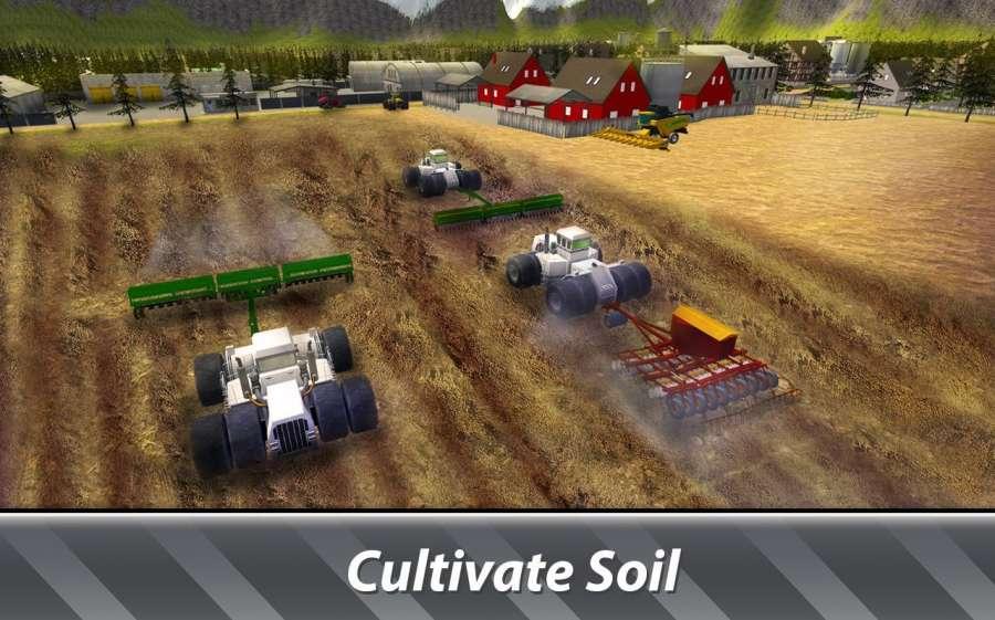 大机器模拟器:农业 - 经营一个巨大的农场!截图7