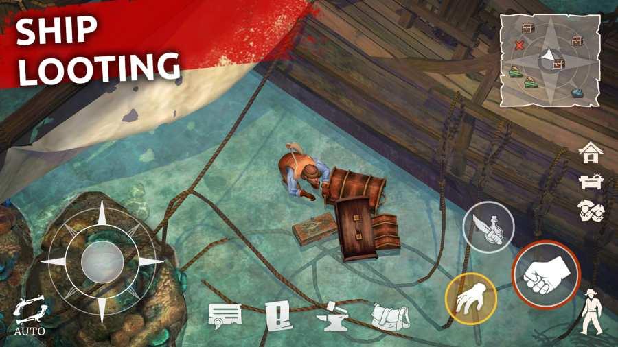 叛变:海盗生存截图0