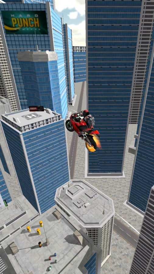 摩托车特技飞跃截图2