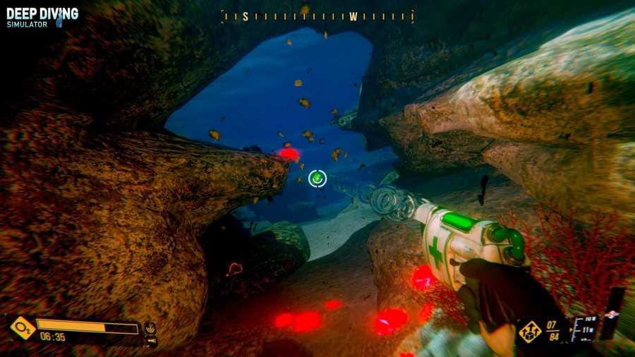 深海潜水模拟