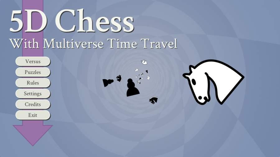 有多元宇宙时间旅行的五维国际象棋