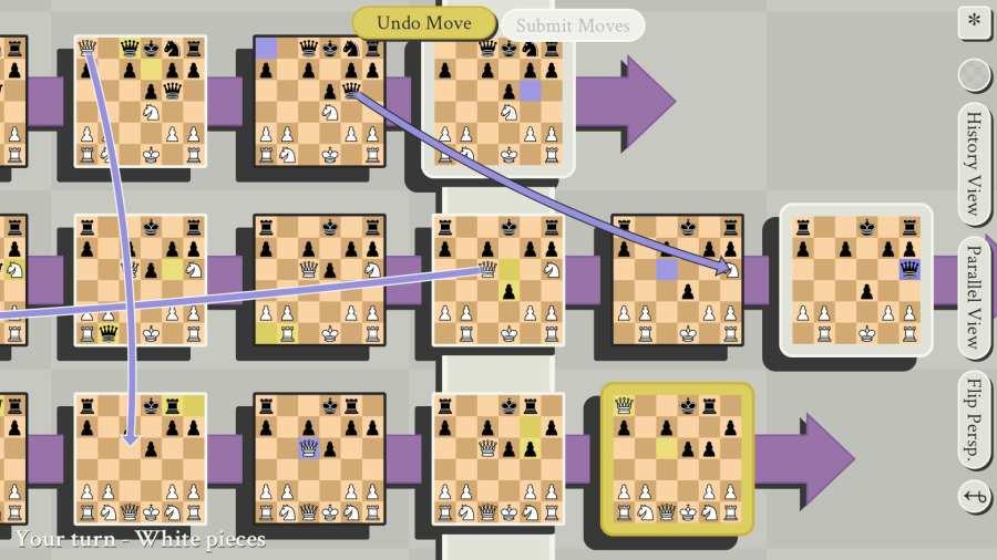 有多元宇宙时间旅行的五维国际象棋截图2