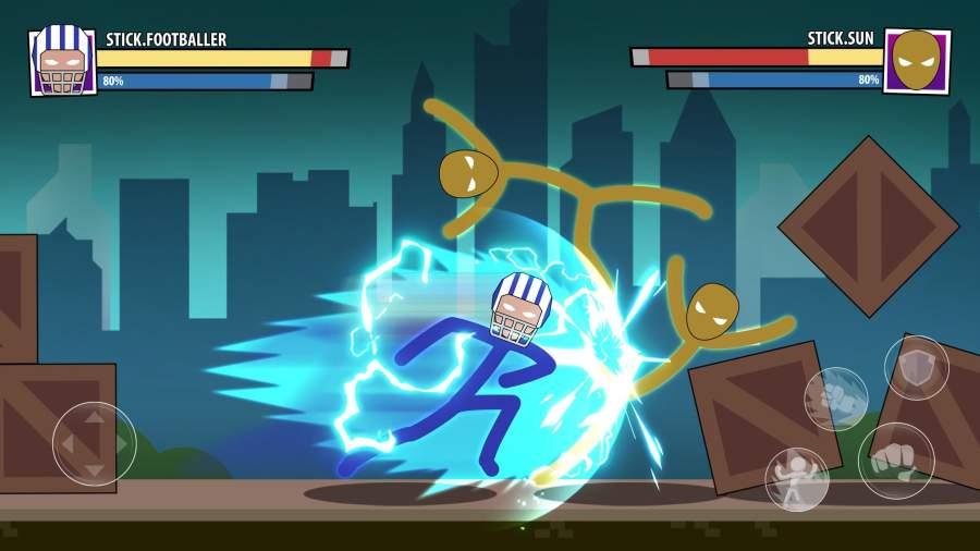 火柴人面具:超级英雄截图3
