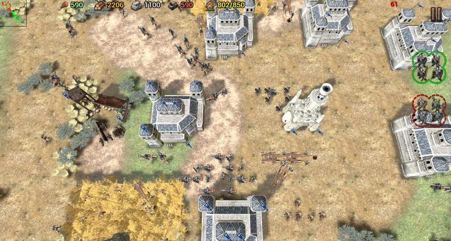 帝国之影:RTS截图2