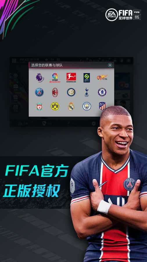 FIFA足球世界截图0