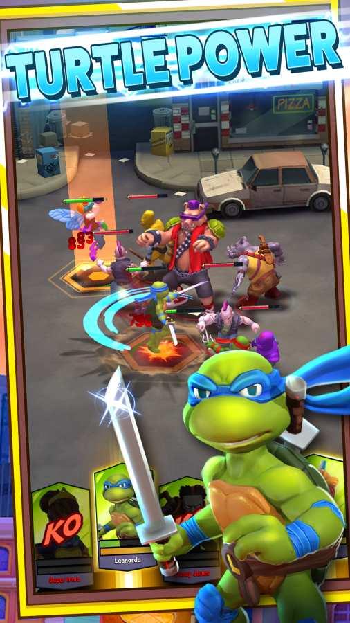 忍者神龟:突变体疯狂