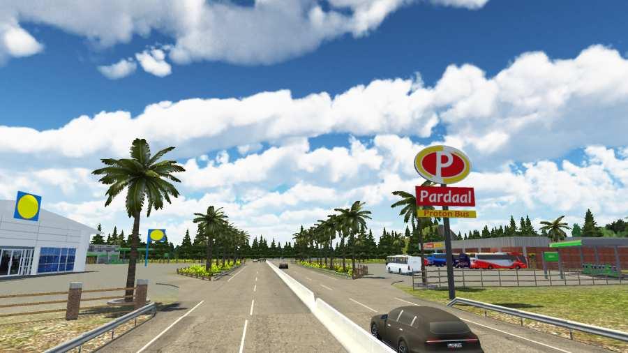 宇通巴士模拟:道路截图2