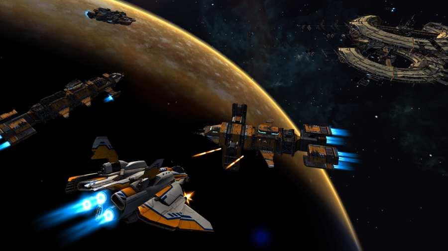 星舰指挥官:战争与贸易截图1