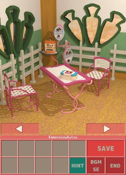小逃生:馬和胡蘿蔔室