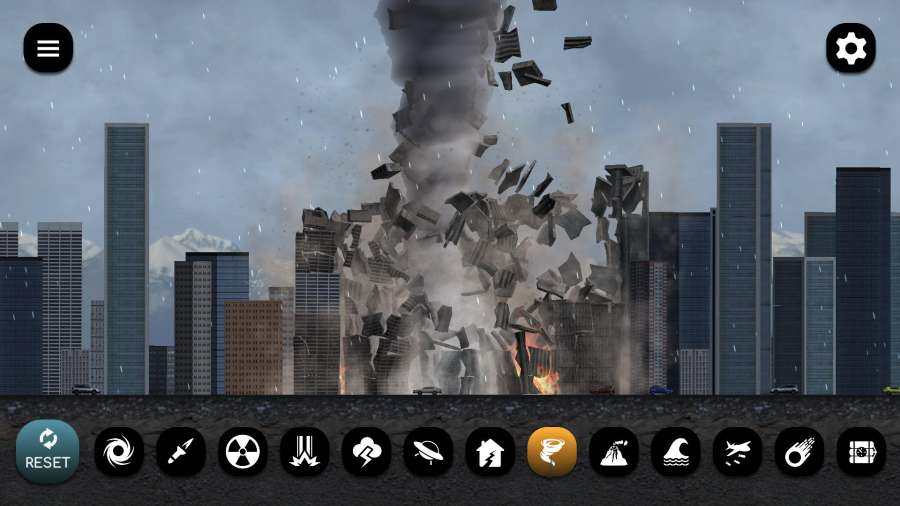 城市粉碎模擬器