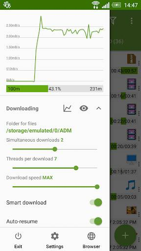 Advanced Download Manager & Torrent downlo截图1