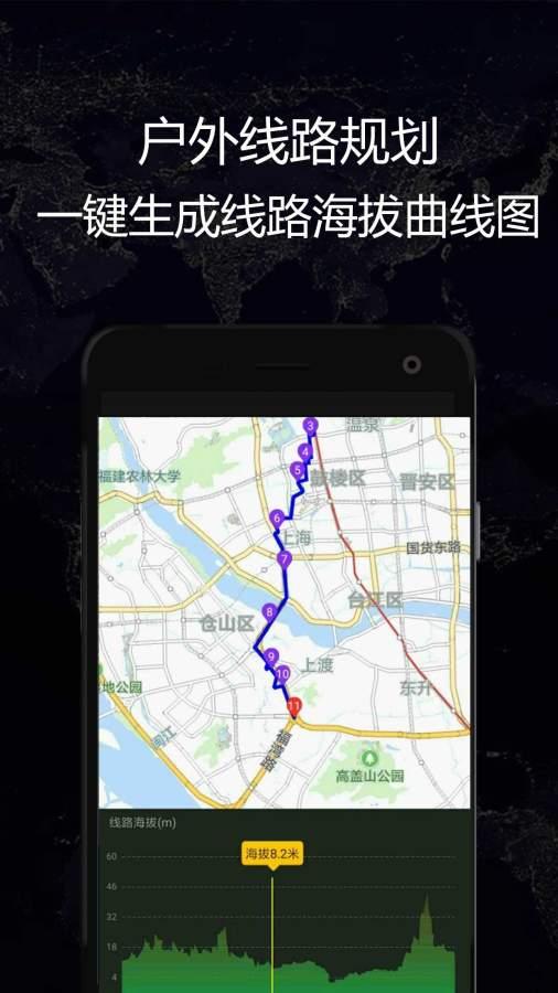 GPS实时海拔截图2
