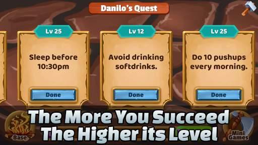 Kingelf Habit RPG - Daily Quest Habit Tracke截图0