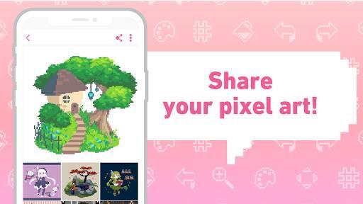 dotpict - Easy to Pixel Arts截图2