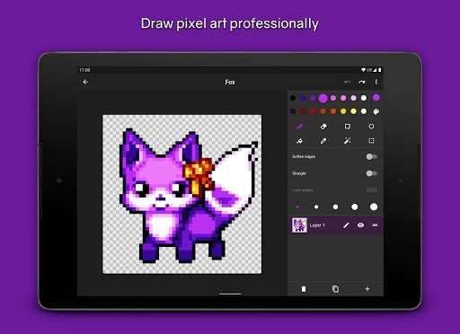 Pixel Brush - Pixel art sprite maker截图4