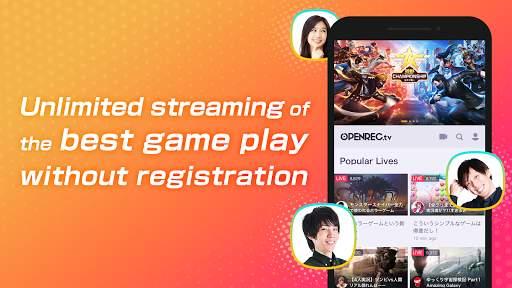 OPENREC.tv -游戏直播&视频播放