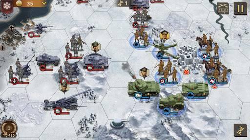 将军的荣耀3 - 二战军事策略游戏截图1