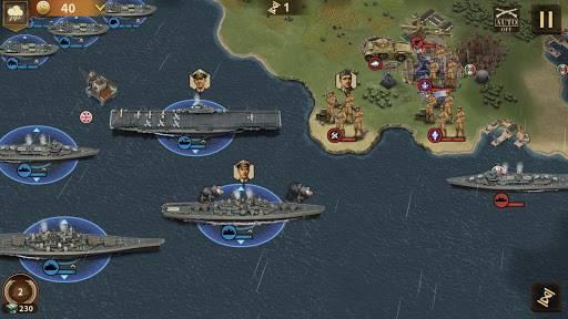 将军的荣耀3 - 二战军事策略游戏截图2
