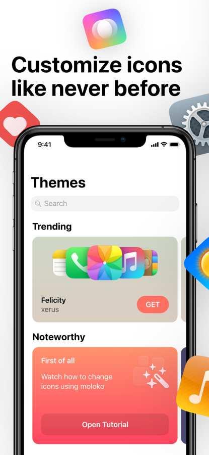 moloko – themes & icons截图0