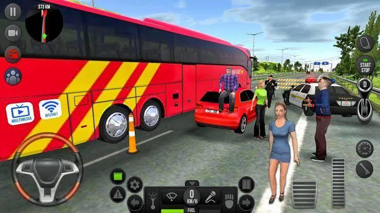 现代长途客车模拟器运输2021