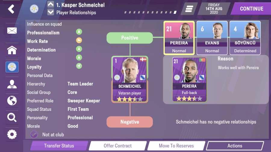 足球经理2021 移动版截图4