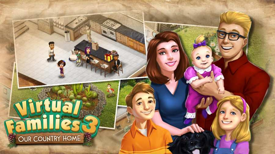 虚拟家庭3截图0