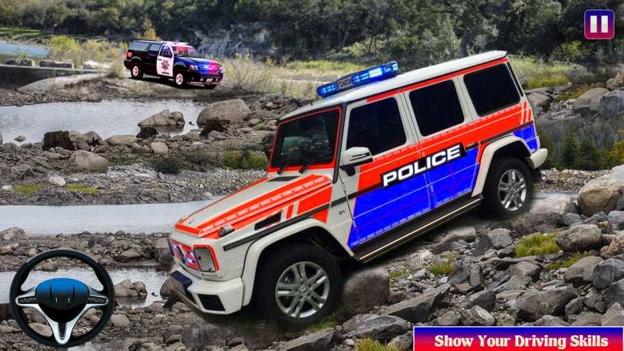 越野警车驾驶模拟器截图1