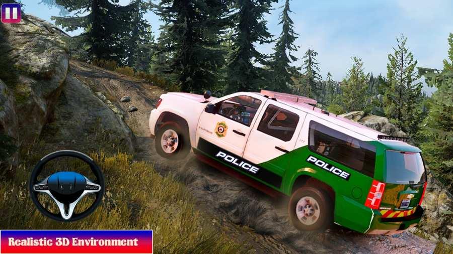 越野警车驾驶模拟器截图3