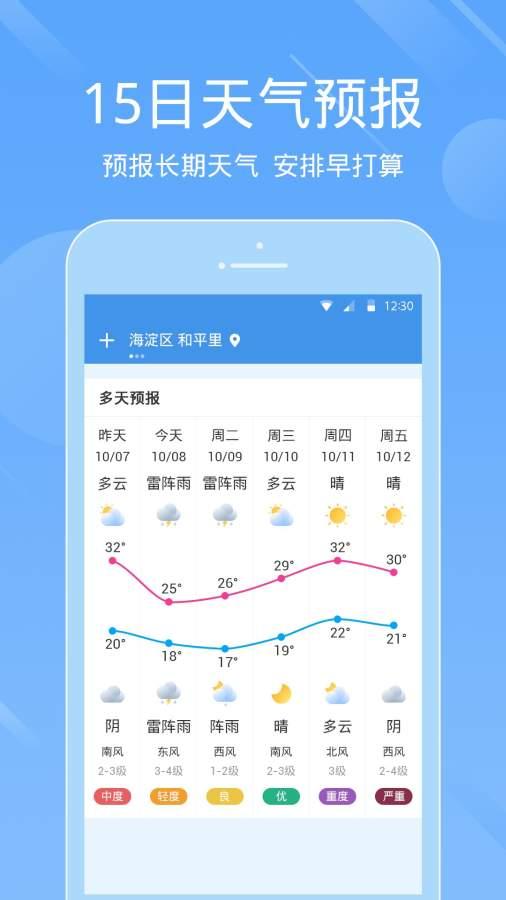 天气预报_手机天气截图3