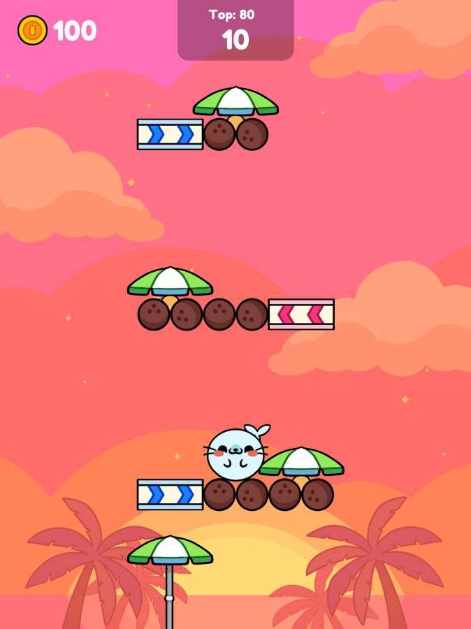 猴子滾動:可愛攀爬截圖3