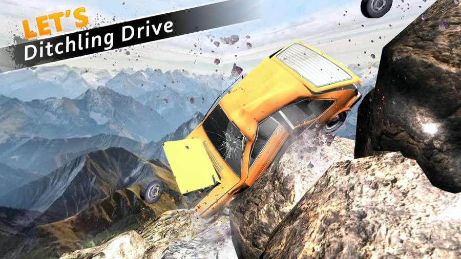 车祸测试模拟器3d:死亡飞跃