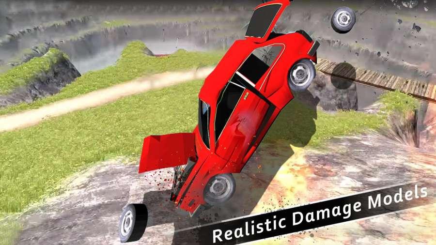 车祸测试模拟器3d:死亡飞跃截图2