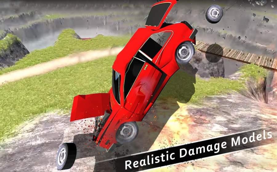 车祸测试模拟器3d:死亡飞跃截图3