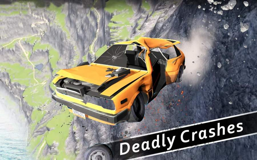 车祸测试模拟器3d:死亡飞跃截图4