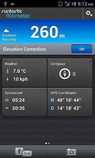 海拔测量仪截图0