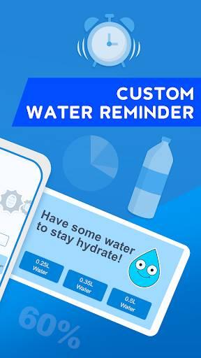 WaterMinder - 水追蹤和飲水提醒應用程序截圖4