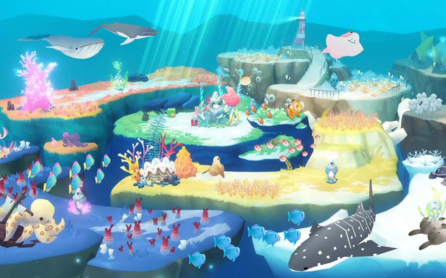 蓝鲸日记 : 放置水族馆截图3
