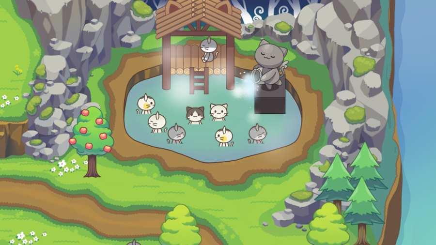 猫咪森林:治愈露营截图1